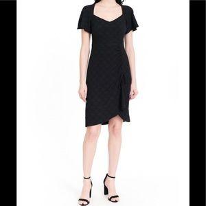 NWT Nanette Lepore BLUE portrait Dress, Size 8